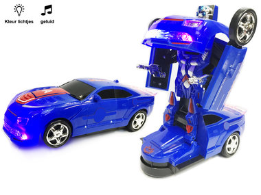 Robot Car 2 in 1 robot en auto | Mighty Righteous Hero