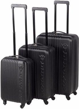 Dunlop Reiskoffers rolkoffer - bagage 3 delig set