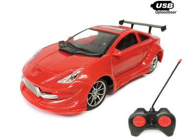 RC Race Model Auto |Emulation Car 1:16  1:16 USB oplaadbaar mix ass.