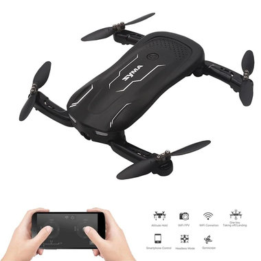 Syma Z1 selfie drone- Optical Flow Positioning -Opvouwbaar quadcopter -HD live camera