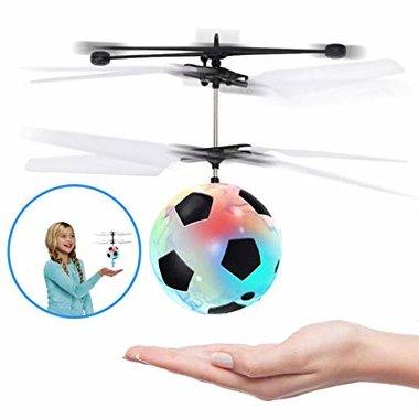Flying Ball - Hand bestuurbaar Vliegende Bal Hand vliegende ball met geavanceerde LED-infraroodsensor en hover-technologie. Deze emoji bal kan op en neer vliegen zonder te va