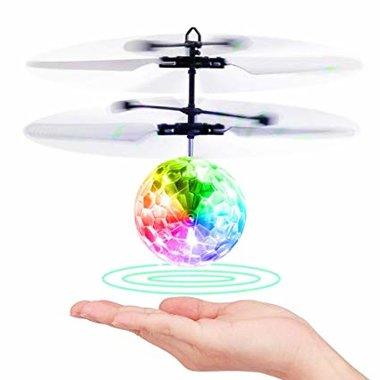 Flying Ball  zwevende disco bal met Led-infraroodsensor - Hand bestuurbaar Vliegende Bal