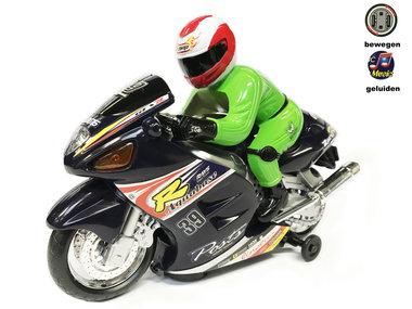 Speelgoed racemotor met geluid en lichtjes |Motorcycle Racer