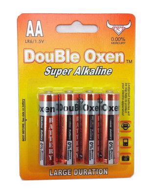 Double Oxen Alkaline AA