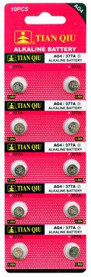 TIAN QIU AG 4 / 377A batterijen