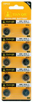 TIAN QIU AG 8 / 391A batterijen