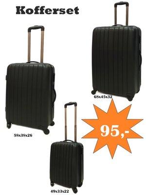 Kofferset 3 delig