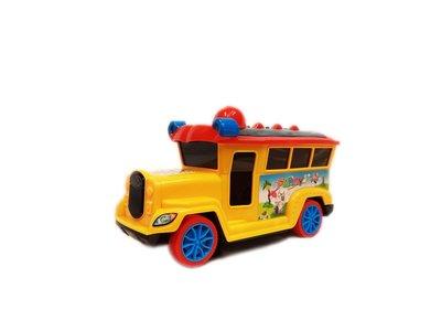 Speelgoed Disco Bus met muziek en lichtjes