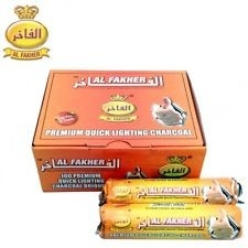 Alfakher kooltjes charcoal kool waterpijp