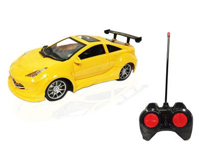 RC Race Model Auto  Emulation Car 1:16  1:16 (usb oplaadbaar) mix kleur
