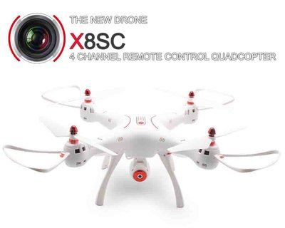 Syma X8SC HD camera quadcopter drone met HD camera
