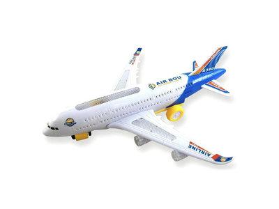 Airbus speelgoed vliegtuig A380 -44cm