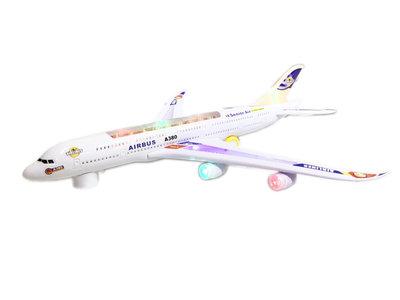 Airbus speelgoed vliegtuig 166 - 59cm
