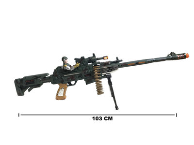 Machinegeweer 103 CM speelgoed | Combat mission Gun