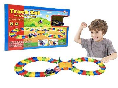 Track set speelgoed auto set 142 stuks