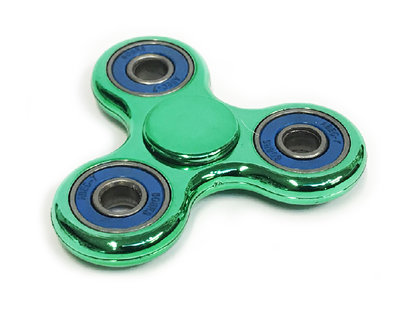 Fidget spinners-Hand spinners Metallic color ABS