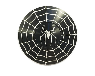 Spiderman spinner - Fidget Spinner handspinner zwart