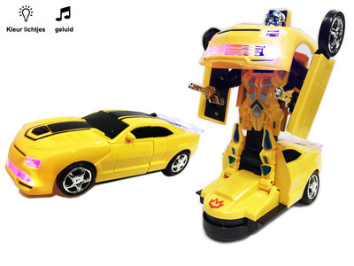 Robot Car 2 in 1 robot en auto | Galaxy warrior