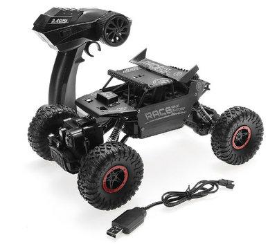 RC 2.4GHZ MONSTER 4WD METAL CRAWLER 1:18 |RC AUTO (3ass kleuren)