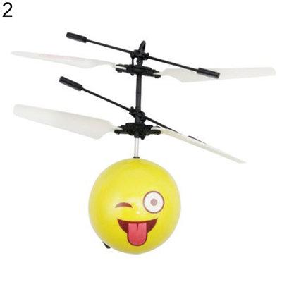 FLYING BALL EMOJI  ZWEVENDE BAL  met hand bestuurbaar