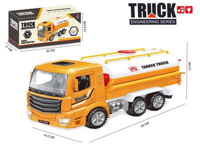 Tankwagen speelgoed met licht en geluiden - Truck Engineering series
