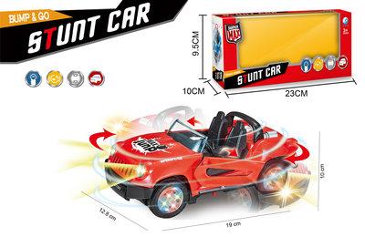 Stunt auto speelgoed - Super Max - acrobatisch beweging met licht en geluid