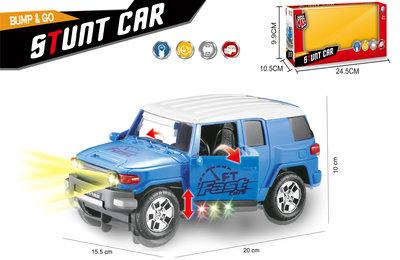 Stunt auto speelgoed - Super Max - Hummer met acrobatisch beweging 20CM