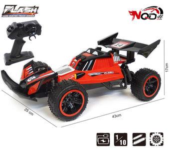 RC Race Buggy NQD - 2.4GHZ radio grafisch bestuurbare auto 18km/u - 1:10 43CM - oplaadbaar