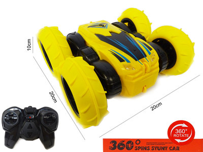 RC Stunt Car 2.4 Ghz Off Road bestuurbare Race auto - Dubbelzijdig - 360 spinning car- oplaadbaar