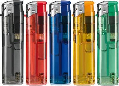 Klik aanstekers 50 stuks in tray navulbaar- electronic Unilite lighters