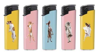 Unilite klik aanstekers - Happy Pets - electronic lighters - navulbaar