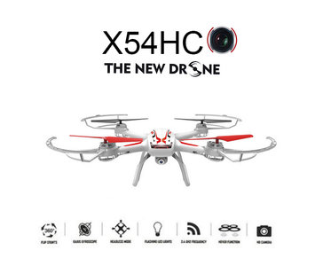 Syma X54HC HD camera Drone + Altitude mode