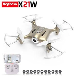 Syma X21W Delicate drone FPV live Camera quadcopter +App control functie