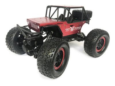 Rc Rock Metal Crawler 4x4 off-road auto 1:14 - bergbeklimmer 2.4GHZ mix kleur
