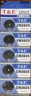 T&E CR2025 3V