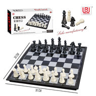 Schaakbord - Chess - magnetisch opvouwbaar bord - schaakspel 30CM