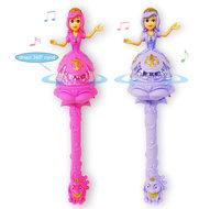 Prinsessenstaf met muziek en lichtjes - toverstaf - flash stick 37CM -Groothandel